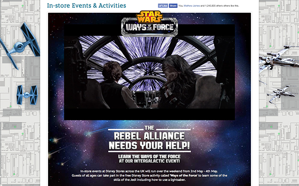 Star Wars - In-store Events